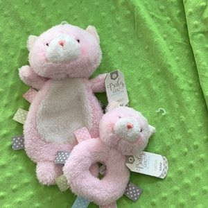 NWT Crinkle Kitty and Rattle Kitty Set